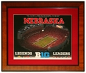 Big 10 Plaque Nebraska Cornhuskers, Nebraska One of a Kind, Huskers One of a Kind, Nebraska Big 10 Plaque, Huskers Big 10 Plaque