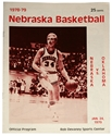 1979 NU OU Basketball Program Nebraska Cornhuskers, Nebraska One of a Kind, Huskers One of a Kind, Nebraska 1979 NU OU Basketball Program, Huskers 1979 NU OU Basketball Program