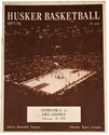1978 NU OU Basketball Program Nebraska Cornhuskers, Nebraska One of a kind, Huskers One of a kind, Nebraska 1978 NU OU Basketball Program, Huskers 1978 NU OU Basketball Program