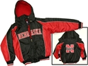 Youth Huskers Warm Up Hooded Coat Nebraska Cornhuskers, husker football, nebraska cornhuskers merchandise, nebraska merchandise, husker merchandise, nebraska cornhuskers apparel, husker apparel, nebraska apparel, husker youth apparel, nebraska cornhuskers youth apparel, nebraska kids apparel, husker kids apparel, husker kids merchandise, nebraska cornhuskers kids merchandise,YOUTH HEAVY BLACK HOODED COAT