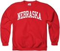 Youth Red Nebraska Prep Crew Sweatshirt Nebraska Cornhuskers, Nebraska  Youth, Huskers  Youth, Nebraska  Kids, Huskers  Kids, Nebraska Youth Prep Crew Sweatshirt, Huskers Youth Prep Crew Sweatshirt