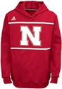 Kids Adidas Huskers Amped Player Hoodie Nebraska Cornhuskers, Nebraska  Childrens, Huskers  Childrens, Nebraska  Kids, Huskers  Kids, Nebraska Adidas Huskers Amped Player Hoodie , Huskers Adidas Huskers Amped Player Hoodie