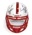 Abdullah & Bell Autogaphed Mini Speed Helmet Nebraska Cornhuskers, Nebraska  Former Players, Huskers  Former Players, Nebraska Kenny Bell Autogaphed Mini Speed Helmet, Huskers Kenny Bell Autogaphed Mini Speed Helmet