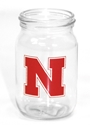 4 oz. Mini Mason Jar Nebraska Cornhuskers, Nebraska  Kitchen & Glassware, Huskers  Kitchen & Glassware, Nebraska  Game Room & Big Red Room, Huskers  Game Room & Big Red Room, Nebraska  Novelty, Huskers  Novelty, Nebraska  Tailgating, Huskers  Tailgating, Nebraska Shot Glass, Huskers Shot Glass, Iron N Mason Jar