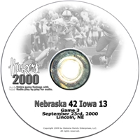 2000 Nu Vs. Iowa Dvd Husker football, Nebraska cornhuskers merchandise, husker merchandise, nebraska merchandise, nebraska cornhuskers dvd, husker dvd, nebraska football dvd, nebraska cornhuskers videos, husker videos, nebraska football videos, husker game dvd, husker bowl game dvd, husker dvd subscription, nebraska cornhusker dvd subscription, husker football season on dvd, nebraska cornhuskers dvd box sets, husker dvd box sets, Nebraska Cornhuskers, 2000 Iowa