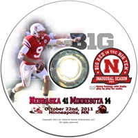 2011 Minnesota Husker football, Nebraska cornhuskers merchandise, husker merchandise, nebraska merchandise, nebraska cornhuskers dvd, husker dvd, nebraska football dvd, nebraska cornhuskers videos, husker videos, nebraska football videos, husker game dvd, husker bowl game dvd, husker dvd subscription, nebraska cornhusker dvd subscription, husker football season on dvd, nebraska cornhuskers dvd box sets, husker dvd box sets, Nebraska Cornhuskers, 2011 Minnesota