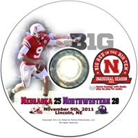 2011 Northwestern Husker football, Nebraska cornhuskers merchandise, husker merchandise, nebraska merchandise, nebraska cornhuskers dvd, husker dvd, nebraska football dvd, nebraska cornhuskers videos, husker videos, nebraska football videos, husker game dvd, husker bowl game dvd, husker dvd subscription, nebraska cornhusker dvd subscription, husker football season on dvd, nebraska cornhuskers dvd box sets, husker dvd box sets, Nebraska Cornhuskers, 2011 Northwestern