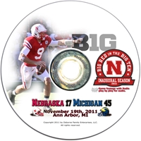 2011 MICHIGAN Husker football, Nebraska cornhuskers merchandise, husker merchandise, nebraska merchandise, nebraska cornhuskers dvd, husker dvd, nebraska football dvd, nebraska cornhuskers videos, husker videos, nebraska football videos, husker game dvd, husker bowl game dvd, husker dvd subscription, nebraska cornhusker dvd subscription, husker football season on dvd, nebraska cornhuskers dvd box sets, husker dvd box sets, Nebraska Cornhuskers, 2011 Michigan