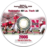 2006 Dvd Louisiana Tech Husker football, Nebraska cornhuskers merchandise, husker merchandise, nebraska merchandise, nebraska cornhuskers dvd, husker dvd, nebraska football dvd, nebraska cornhuskers videos, husker videos, nebraska football videos, husker game dvd, husker bowl game dvd, husker dvd subscription, nebraska cornhusker dvd subscription, husker football season on dvd, nebraska cornhuskers dvd box sets, husker dvd box sets, Nebraska Cornhuskers, 2006 Louisiana Tech