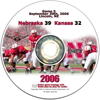 2006 Dvd Kansas Husker football, Nebraska cornhuskers merchandise, husker merchandise, nebraska merchandise, nebraska cornhuskers dvd, husker dvd, nebraska football dvd, nebraska cornhuskers videos, husker videos, nebraska football videos, husker game dvd, husker bowl game dvd, husker dvd subscription, nebraska cornhusker dvd subscription, husker football season on dvd, nebraska cornhuskers dvd box sets, husker dvd box sets, Nebraska Cornhuskers, 2006 Kansas