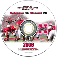 2006 Dvd Missouri Husker football, Nebraska cornhuskers merchandise, husker merchandise, nebraska merchandise, nebraska cornhuskers dvd, husker dvd, nebraska football dvd, nebraska cornhuskers videos, husker videos, nebraska football videos, husker game dvd, husker bowl game dvd, husker dvd subscription, nebraska cornhusker dvd subscription, husker football season on dvd, nebraska cornhuskers dvd box sets, husker dvd box sets, Nebraska Cornhuskers, 2006 Missouri