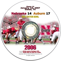 2006 Cotton Bowl Vs. Auburn Husker football, Nebraska cornhuskers merchandise, husker merchandise, nebraska merchandise, nebraska cornhuskers dvd, husker dvd, nebraska football dvd, nebraska cornhuskers videos, husker videos, nebraska football videos, husker game dvd, husker bowl game dvd, husker dvd subscription, nebraska cornhusker dvd subscription, husker football season on dvd, nebraska cornhuskers dvd box sets, husker dvd box sets, Nebraska Cornhuskers, 2007 Cotton Bowl vs. Auburn