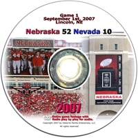 2007 Dvd Nevada Husker football, Nebraska cornhuskers merchandise, husker merchandise, nebraska merchandise, nebraska cornhuskers dvd, husker dvd, nebraska football dvd, nebraska cornhuskers videos, husker videos, nebraska football videos, husker game dvd, husker bowl game dvd, husker dvd subscription, nebraska cornhusker dvd subscription, husker football season on dvd, nebraska cornhuskers dvd box sets, husker dvd box sets, Nebraska Cornhuskers, 2007 Nevada