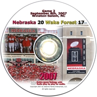 2007 Dvd Wake Forest Husker football, Nebraska cornhuskers merchandise, husker merchandise, nebraska merchandise, nebraska cornhuskers dvd, husker dvd, nebraska football dvd, nebraska cornhuskers videos, husker videos, nebraska football videos, husker game dvd, husker bowl game dvd, husker dvd subscription, nebraska cornhusker dvd subscription, husker football season on dvd, nebraska cornhuskers dvd box sets, husker dvd box sets, Nebraska Cornhuskers, 2007 Wake Forest