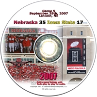 2007 Dvd Iowa State Husker football, Nebraska cornhuskers merchandise, husker merchandise, nebraska merchandise, nebraska cornhuskers dvd, husker dvd, nebraska football dvd, nebraska cornhuskers videos, husker videos, nebraska football videos, husker game dvd, husker bowl game dvd, husker dvd subscription, nebraska cornhusker dvd subscription, husker football season on dvd, nebraska cornhuskers dvd box sets, husker dvd box sets, Nebraska Cornhuskers, 2007 Iowa State