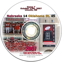 2007 Dvd Oklahoma State Husker football, Nebraska cornhuskers merchandise, husker merchandise, nebraska merchandise, nebraska cornhuskers dvd, husker dvd, nebraska football dvd, nebraska cornhuskers videos, husker videos, nebraska football videos, husker game dvd, husker bowl game dvd, husker dvd subscription, nebraska cornhusker dvd subscription, husker football season on dvd, nebraska cornhuskers dvd box sets, husker dvd box sets, Nebraska Cornhuskers, 2007 Oklahoma State
