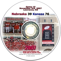 2007 Dvd Kansas Husker football, Nebraska cornhuskers merchandise, husker merchandise, nebraska merchandise, nebraska cornhuskers dvd, husker dvd, nebraska football dvd, nebraska cornhuskers videos, husker videos, nebraska football videos, husker game dvd, husker bowl game dvd, husker dvd subscription, nebraska cornhusker dvd subscription, husker football season on dvd, nebraska cornhuskers dvd box sets, husker dvd box sets, Nebraska Cornhuskers, 2007 Kansas