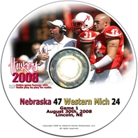 2008 Dvd Western Michigan Husker football, Nebraska cornhuskers merchandise, husker merchandise, nebraska merchandise, nebraska cornhuskers dvd, husker dvd, nebraska football dvd, nebraska cornhuskers videos, husker videos, nebraska football videos, husker game dvd, husker bowl game dvd, husker dvd subscription, nebraska cornhusker dvd subscription, husker football season on dvd, nebraska cornhuskers dvd box sets, husker dvd box sets, Nebraska Cornhuskers, 2008 Western Michigan