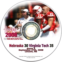 2008 Dvd Virginia Tech Husker football, Nebraska cornhuskers merchandise, husker merchandise, nebraska merchandise, nebraska cornhuskers dvd, husker dvd, nebraska football dvd, nebraska cornhuskers videos, husker videos, nebraska football videos, husker game dvd, husker bowl game dvd, husker dvd subscription, nebraska cornhusker dvd subscription, husker football season on dvd, nebraska cornhuskers dvd box sets, husker dvd box sets, Nebraska Cornhuskers, 2008 Virginia Tech