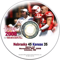 2008 Dvd Kansas Husker football, Nebraska cornhuskers merchandise, husker merchandise, nebraska merchandise, nebraska cornhuskers dvd, husker dvd, nebraska football dvd, nebraska cornhuskers videos, husker videos, nebraska football videos, husker game dvd, husker bowl game dvd, husker dvd subscription, nebraska cornhusker dvd subscription, husker football season on dvd, nebraska cornhuskers dvd box sets, husker dvd box sets, Nebraska Cornhuskers, 2008 Kansas