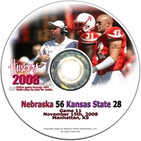 2008 Dvd Kansas State Husker football, Nebraska cornhuskers merchandise, husker merchandise, nebraska merchandise, nebraska cornhuskers dvd, husker dvd, nebraska football dvd, nebraska cornhuskers videos, husker videos, nebraska football videos, husker game dvd, husker bowl game dvd, husker dvd subscription, nebraska cornhusker dvd subscription, husker football season on dvd, nebraska cornhuskers dvd box sets, husker dvd box sets, Nebraska Cornhuskers, 2008 Kansas State