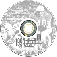 1994 Pacific Husker football, Nebraska cornhuskers merchandise, husker merchandise, nebraska merchandise, nebraska cornhuskers dvd, husker dvd, nebraska football dvd, nebraska cornhuskers videos, husker videos, nebraska football videos, husker game dvd, husker bowl game dvd, husker dvd subscription, nebraska cornhusker dvd subscription, husker football season on dvd, nebraska cornhuskers dvd box sets, husker dvd box sets, Nebraska Cornhuskers, 1994 Pacific