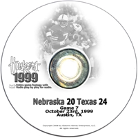1999 Texas Husker football, Nebraska cornhuskers merchandise, husker merchandise, nebraska merchandise, nebraska cornhuskers dvd, husker dvd, nebraska football dvd, nebraska cornhuskers videos, husker videos, nebraska football videos, husker game dvd, husker bowl game dvd, husker dvd subscription, nebraska cornhusker dvd subscription, husker football season on dvd, nebraska cornhuskers dvd box sets, husker dvd box sets, Nebraska Cornhuskers, 1999 Texas