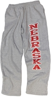 Husker Gray Sweatpants Nebraska Cornhuskers, Nebraska  Mens Shorts & Pants, Huskers  Mens Shorts & Pants, Nebraska Shorts & Pants, Huskers Shorts & Pants, Nebraska Mens Classic Grey Sweatpants, Huskers Mens Classic Grey Sweatpants