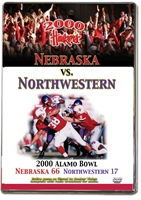 2000 Alamo Bowl Vs N.Western Husker football, Nebraska cornhuskers merchandise, husker merchandise, nebraska merchandise, nebraska cornhuskers dvd, husker dvd, nebraska football dvd, nebraska cornhuskers videos, husker videos, nebraska football videos, husker game dvd, husker bowl game dvd, husker dvd subscription, nebraska cornhusker dvd subscription, husker football season on dvd, nebraska cornhuskers dvd box sets, husker dvd box sets, Nebraska Cornhuskers, 2000 Alamo Bowl vs. Northwestern