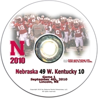2010 Western Kentucky on DVD Husker football, Nebraska cornhuskers merchandise, husker merchandise, nebraska merchandise, nebraska cornhuskers dvd, husker dvd, nebraska football dvd, nebraska cornhuskers videos, husker videos, nebraska football videos, husker game dvd, husker bowl game dvd, husker dvd subscription, nebraska cornhusker dvd subscription, husker football season on dvd, nebraska cornhuskers dvd box sets, husker dvd box sets, Nebraska Cornhuskers, 2010 Western Kentucky