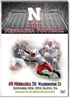 2010 Washington on DVD Husker football, Nebraska cornhuskers merchandise, husker merchandise, nebraska merchandise, nebraska cornhuskers dvd, husker dvd, nebraska football dvd, nebraska cornhuskers videos, husker videos, nebraska football videos, husker game dvd, husker bowl game dvd, husker dvd subscription, nebraska cornhusker dvd subscription, husker football season on dvd, nebraska cornhuskers dvd box sets, husker dvd box sets, Nebraska Cornhuskers, 2010 Washington