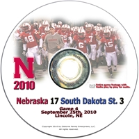 2010 South Dakota State on DVD Husker football, Nebraska cornhuskers merchandise, husker merchandise, nebraska merchandise, nebraska cornhuskers dvd, husker dvd, nebraska football dvd, nebraska cornhuskers videos, husker videos, nebraska football videos, husker game dvd, husker bowl game dvd, husker dvd subscription, nebraska cornhusker dvd subscription, husker football season on dvd, nebraska cornhuskers dvd box sets, husker dvd box sets, Nebraska Cornhuskers, 2010 South Dakota State