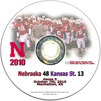 2010 Kansas State on DVD Husker football, Nebraska cornhuskers merchandise, husker merchandise, nebraska merchandise, nebraska cornhuskers dvd, husker dvd, nebraska football dvd, nebraska cornhuskers videos, husker videos, nebraska football videos, husker game dvd, husker bowl game dvd, husker dvd subscription, nebraska cornhusker dvd subscription, husker football season on dvd, nebraska cornhuskers dvd box sets, husker dvd box sets, Nebraska Cornhuskers, 2010 Kansas State