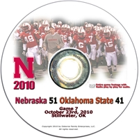2010 Oklahoma State on DVD Husker football, Nebraska cornhuskers merchandise, husker merchandise, nebraska merchandise, nebraska cornhuskers dvd, husker dvd, nebraska football dvd, nebraska cornhuskers videos, husker videos, nebraska football videos, husker game dvd, husker bowl game dvd, husker dvd subscription, nebraska cornhusker dvd subscription, husker football season on dvd, nebraska cornhuskers dvd box sets, husker dvd box sets, Nebraska Cornhuskers, 2010 Oklahoma State