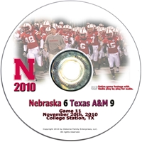 2010 Texas A&M on DVD Husker football, Nebraska cornhuskers merchandise, husker merchandise, nebraska merchandise, nebraska cornhuskers dvd, husker dvd, nebraska football dvd, nebraska cornhuskers videos, husker videos, nebraska football videos, husker game dvd, husker bowl game dvd, husker dvd subscription, nebraska cornhusker dvd subscription, husker football season on dvd, nebraska cornhuskers dvd box sets, husker dvd box sets, Nebraska Cornhuskers, 2010 Texas A&M