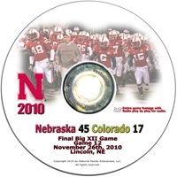 2010 Colorado on DVD Husker football, Nebraska cornhuskers merchandise, husker merchandise, nebraska merchandise, nebraska cornhuskers dvd, husker dvd, nebraska football dvd, nebraska cornhuskers videos, husker videos, nebraska football videos, husker game dvd, husker bowl game dvd, husker dvd subscription, nebraska cornhusker dvd subscription, husker football season on dvd, nebraska cornhuskers dvd box sets, husker dvd box sets, Nebraska Cornhuskers, 2010 Colorado