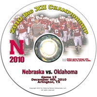 2010 Big XII Championship vs. Oklahoma! Husker football, Nebraska cornhuskers merchandise, husker merchandise, nebraska merchandise, nebraska cornhuskers dvd, husker dvd, nebraska football dvd, nebraska cornhuskers videos, husker videos, nebraska football videos, husker game dvd, husker bowl game dvd, husker dvd subscription, nebraska cornhusker dvd subscription, husker football season on dvd, nebraska cornhuskers dvd box sets, husker dvd box sets, Nebraska Cornhuskers, 2010 Big XII Championship vs. Oklahoma