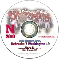 2010 Holiday Bowl vs. Washington Husker football, Nebraska cornhuskers merchandise, husker merchandise, nebraska merchandise, nebraska cornhuskers dvd, husker dvd, nebraska football dvd, nebraska cornhuskers videos, husker videos, nebraska football videos, husker game dvd, husker bowl game dvd, husker dvd subscription, nebraska cornhusker dvd subscription, husker football season on dvd, nebraska cornhuskers dvd box sets, husker dvd box sets, Nebraska Cornhuskers, 2010 Holiday Bowl vs. Washington