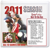 2011 SEASON BOX SET Husker football, Nebraska cornhuskers merchandise, husker merchandise, nebraska merchandise, nebraska cornhuskers dvd, husker dvd, nebraska football dvd, nebraska cornhuskers videos, husker videos, nebraska football videos, husker game dvd, husker bowl game dvd, husker dvd subscription, nebraska cornhusker dvd subscription, husker football season on dvd, nebraska cornhuskers dvd box sets, husker dvd box sets, Nebraska Cornhuskers, 2011 Complete Season on DVD