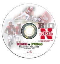 2015 Nebraska vs Michigan State DVD Nebraska Cornhuskers, Nebraska  2015 Season, Huskers  2015 Season, Nebraska  1998 to Present, Huskers  1998 to Present, Nebraska  Show All DVD's, Huskers  Show All DVD's, Nebraska 2014 Nebraska vs Florida Atlantic DVD, Huskers 2014 Nebraska vs Florida Atlantic DVD