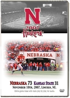 2007 Dvd Kansas State Husker football, Nebraska cornhuskers merchandise, husker merchandise, nebraska merchandise, nebraska cornhuskers dvd, husker dvd, nebraska football dvd, nebraska cornhuskers videos, husker videos, nebraska football videos, husker game dvd, husker bowl game dvd, husker dvd subscription, nebraska cornhusker dvd subscription, husker football season on dvd, nebraska cornhuskers dvd box sets, husker dvd box sets, Nebraska Cornhuskers, 2007 Kansas State