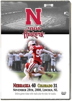 2008 Dvd Colorado Husker football, Nebraska cornhuskers merchandise, husker merchandise, nebraska merchandise, nebraska cornhuskers dvd, husker dvd, nebraska football dvd, nebraska cornhuskers videos, husker videos, nebraska football videos, husker game dvd, husker bowl game dvd, husker dvd subscription, nebraska cornhusker dvd subscription, husker football season on dvd, nebraska cornhuskers dvd box sets, husker dvd box sets, Nebraska Cornhuskers, 2008 Colorado