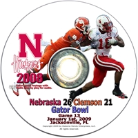2009 Gator Bowl Game Dvd Husker football, Nebraska cornhuskers merchandise, husker merchandise, nebraska merchandise, nebraska cornhuskers dvd, husker dvd, nebraska football dvd, nebraska cornhuskers videos, husker videos, nebraska football videos, husker game dvd, husker bowl game dvd, husker dvd subscription, nebraska cornhusker dvd subscription, husker football season on dvd, nebraska cornhuskers dvd box sets, husker dvd box sets, Nebraska Cornhuskers, 2009 Gator Bowl vs. Clemson