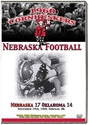1960 OKLAHOMA GAME DVD Husker football, Nebraska cornhuskers merchandise, husker merchandise, nebraska merchandise, nebraska cornhuskers dvd, husker dvd, nebraska football dvd, nebraska cornhuskers videos, husker videos, nebraska football videos, husker game dvd, husker bowl game dvd, husker dvd subscription, nebraska cornhusker dvd subscription, husker football season on dvd, nebraska cornhuskers dvd box sets, husker dvd box sets, Nebraska Cornhuskers, 1960 Oklahoma