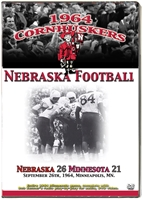 1964 MINNESOTA GAME DVD Husker football, Nebraska cornhuskers merchandise, husker merchandise, nebraska merchandise, nebraska cornhuskers dvd, husker dvd, nebraska football dvd, nebraska cornhuskers videos, husker videos, nebraska football videos, husker game dvd, husker bowl game dvd, husker dvd subscription, nebraska cornhusker dvd subscription, husker football season on dvd, nebraska cornhuskers dvd box sets, husker dvd box sets, Nebraska Cornhuskers, 1964 Minnesota