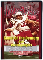 1971 Game of Century with Bremser DVD Husker football, Nebraska cornhuskers merchandise, husker merchandise, nebraska merchandise, nebraska cornhuskers dvd, husker dvd, nebraska football dvd, nebraska cornhuskers videos, husker videos, nebraska football videos, husker game dvd, husker bowl game dvd, husker dvd subscription, nebraska cornhusker dvd subscription, husker football season on dvd, nebraska cornhuskers dvd box sets, husker dvd box sets, Nebraska Cornhuskers, Game of Century with Bremser
