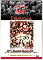 1972 SEASON HIGHLIGHTS DVD Husker football, Nebraska cornhuskers merchandise, husker merchandise, nebraska merchandise, nebraska cornhuskers dvd, husker dvd, nebraska football dvd, nebraska cornhuskers videos, husker videos, nebraska football videos, husker game dvd, husker bowl game dvd, husker dvd subscription, nebraska cornhusker dvd subscription, husker football season on dvd, nebraska cornhuskers dvd box sets, husker dvd box sets, Nebraska Cornhuskers, 1972 Season Highlights DVD