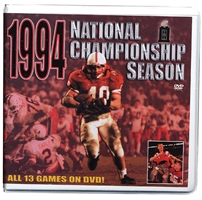 94 Champ Season Dvd Box Set Husker football, Nebraska cornhuskers merchandise, husker merchandise, nebraska merchandise, nebraska cornhuskers dvd, husker dvd, nebraska football dvd, nebraska cornhuskers videos, husker videos, nebraska football videos, husker game dvd, husker bowl game dvd, husker dvd subscription, nebraska cornhusker dvd subscription, husker football season on dvd, nebraska cornhuskers dvd box sets, husker dvd box sets, Nebraska Cornhuskers, 1994 Championship Season DVD Box Set