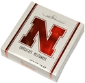Huskers Bakers Chocolates 12 oz Box Nebraska Cornhuskers, Baker%27s Candy Box