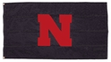 Black Flag Husker Iron N Nebraska Cornhuskers, Nebraska  Flags & Windsocks, Huskers  Flags & Windsocks, Nebraska  Flags & Windsocks, Huskers  Flags & Windsocks, Nebraska Black Flag With Red Iron N, Huskers Black Flag With Red Iron N